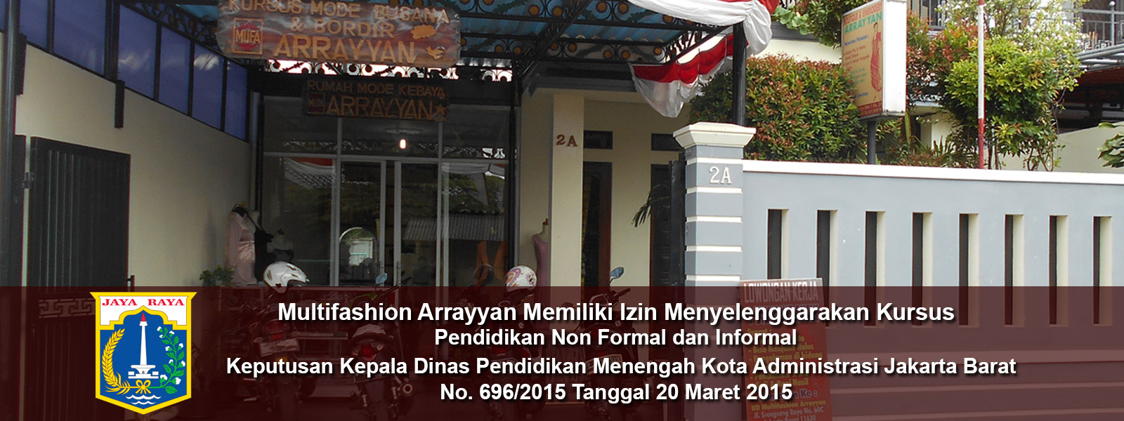 Arrayyan Fashion Kursus